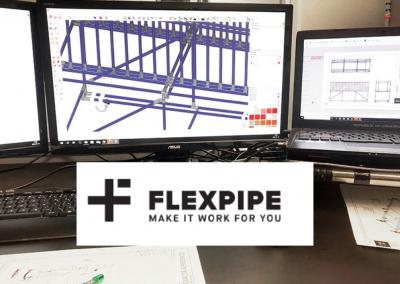 Flexpipe Creator – SketchUp Pro Extension